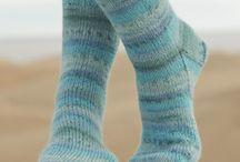 meias em tricot
