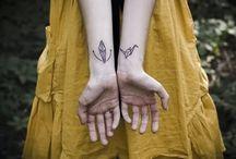 minimal tatoo