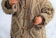 dětské pletení