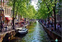 Amsterdam / La mentalidad más abierta de Europa... #amsterdam