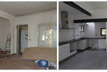 DMR avant - après / Ré-agencement de l'espace intérieur