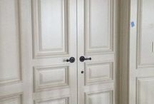Interior Doors That Fit! / Give perfect closure to the interior rooms of your beautiful home from Dakota Millwork.