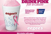 Drink Pink eegee's / Pink Lemon eegee's for Breast Cancer Awareness Month