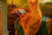 Woman in painting / Kobieta w malarstwie