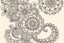Mandala / Mandalas, doodle drawing, coloring pages