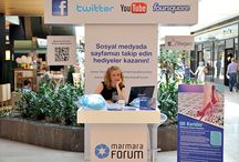 QR Koridor Marmara Forum'da