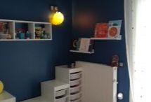 Renovation in kids room