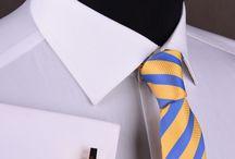 Men's Fashion Formal Dress Shirts / Mens Formal Shirts, Ties and Cufflinks