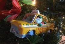 Vintage Christmas Ornaments and Decor