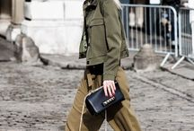 casual chic militaire