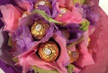 Edible Chocolate (flower) Bouquets
