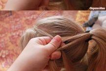 Fun kids hairdo's