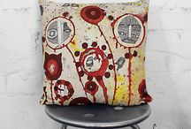 Etsy Artist Throw Pillows