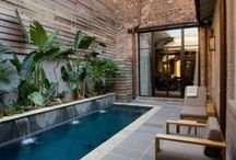 Sogno una piscina