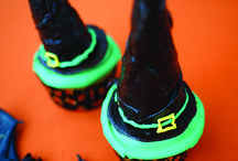 Halloween favourites / http://www.easyfood.ie/witchs-hat-cupcakes/