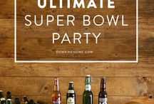 Super Bowl Party Ideas / Rancho Sienna residents are busy prepping for great Super Bowl parties! Here is some inspiration for you. Have fun with these tips- from setting up the viewing area, planning the party food, and choosing decorations!  #superbowl #entertaining