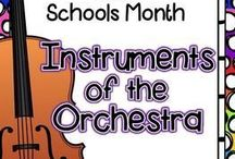 Instruments / Ways to use instruments or talk about instruments in the general music classroom.