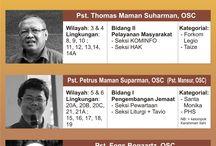 Jadwal Pelayanan Pastoral