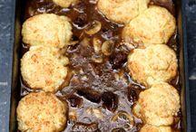 Bœuf à la Guinness et scones au parmesan