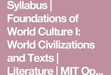 world literature lessons and resources