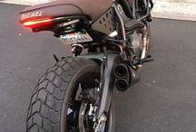 Ducati cafe racer scramble