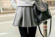{Fasion} Grey skirt