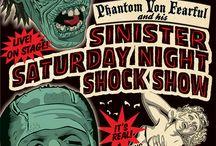 spookshow posters