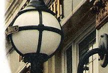 The Embankment / A stylish traditional sphere lantern