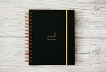 ETSY shop / Personalized 2016/17 2017 planners