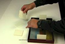 DIY Framing advice / These DIY videos cover all the aspects of fine art framing for exhibitions.