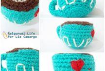 Amigurumi Life / Amigurumis produzidos por mim.  ➡ Meu blog - http://amigurumilife.blogspot.com.br/  ➡ Facebook - https://www.facebook.com/amigurumi.life   Aceito encomendas   Contato: amigurumilife@outlook.com