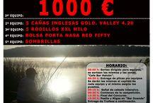 Concursos de Pesca / Concurso de pesca organizado por Boga Apparel, deporte de competición, carpfishing....