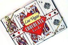 Las Vegas Chocolates / Las Vegas Chocolates for casino party or Vegas themed party.