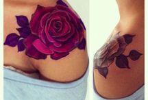 Flower tattooes
