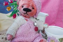 Pink Teddy Bear artists  Teddy Bear artists  by RussianshawlRustic