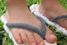 slipper making