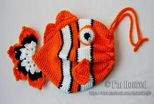 CROCHET / KNIT BAGS FOR CHILDREN - FREE PATTERNS