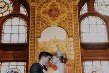 Kristiina Liuksila & Nick Berti Wedding / Venue : Seasons Room, Four Seasons Hotel - DC Hotel Planner: Nicole Rachek  Wedding Planner: Atrendy Wedding Florist: Petal's Edge Chair Rental: Select Event Group