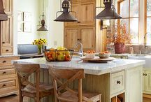 "Kitchen Design ""RUSTIC"" / by Mary Myzia"