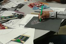 Shelby County TN Staff Development / Shelby County TN Staff Development saw 200 teachers working with Sargent Art supplies to create this wonderful collection of artwork. To receive free supplies for your Staff development day please email artcontest@sargentart.com