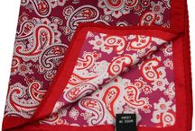 POCH027 / Fashion Inspiration for our Red Paisley Pocket Square http://www.mightygoodman.nl/nl/english-fashion-pochet-rood-paisley.html