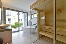 Badezimmer / Aufnahmen von Badezimmern in Büdenbender Häusern