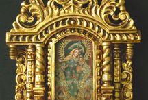 Saints and angels shrine