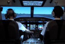Luftfart og fly / Luftfart og fly - Herunder henvisninger til førende pilotskoler der kan anbefales.