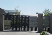 Porte til indkørsel