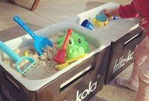 Spielzeug Kind bauen