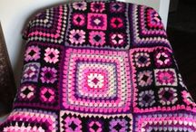 Crochet - Granny Square, african flowers, crocodille patern, bobble stich, c2c