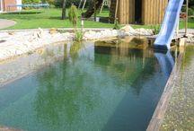 Prírodné bazény a jazierka