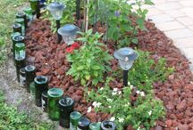 Flea Market Garden Decor