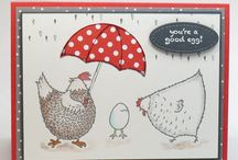 Stampin up chick